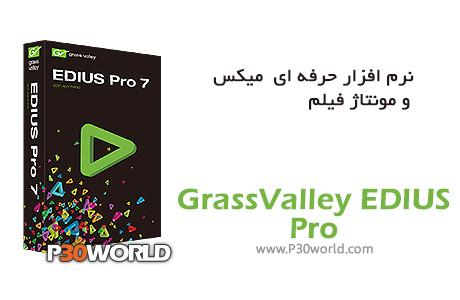 دانلود GrassValley EDIUS Pro 7.30 build 5680 - نرم افزار حرفه ای ویرایش میکس و مونتاژ فیلم