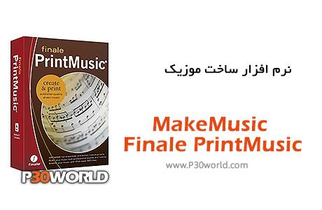 دانلود MakeMusic Finale PrintMusic 2014.820 - نرم افزار نت نویسی با علائم