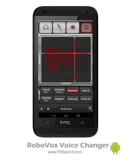 دانلود RoboVox Voice Changer v1.8.0 build 180 - نرم افزار تغییر صدا اندروید