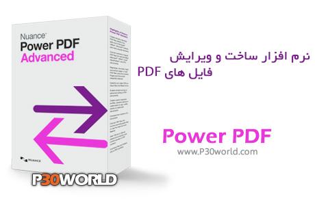 دانلود Nuance Power PDF Advanced 1.0 - نرم افزار ساخت و ویرایش PDF