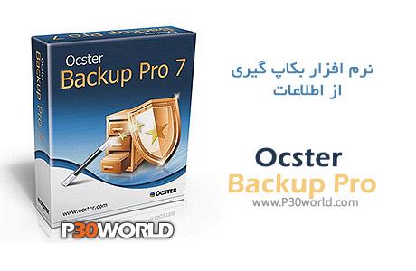دانلود Ocster Backup Pro 7.21 - نرم افزار بک آپ و پشتیبان گیری