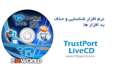 دانلود TrustPort LiveCD 24.01.2014 - دیسک نجات ( بوت ) آنتی ویروس TrustPort