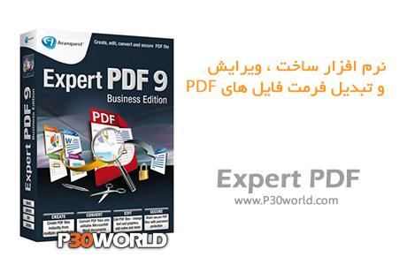 دانلود Avanquest Expert PDF Professional 9.0.270 - نرم افزار ساخت ، ویرایش و تبدیل فرمت فایل های PDF