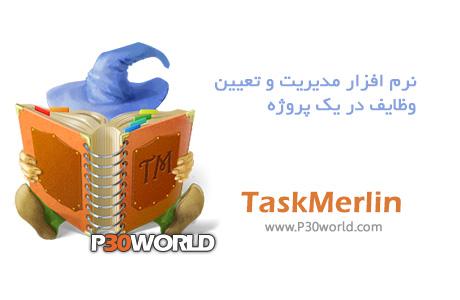دانلود TaskMerlin 5.2.0.1 - نرم افزار مدیریت پروژه و وظایف شخصی