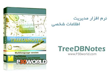دانلود TreeDBNotes Pro 4.35 Build 01 - نرم افزار مدیریت اطلاعات شخصی