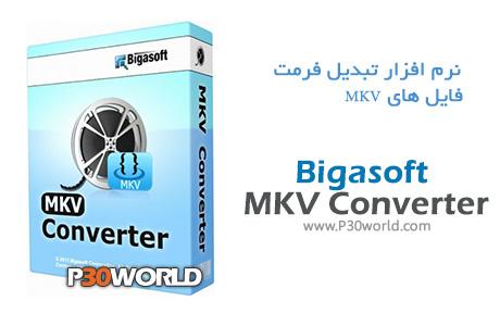 دانلود Bigasoft MKV Converter V3.7.50.5067 - نرم افزار تبدیل فرمت MKV