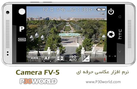 دانلود Camera FV-5 v1.60 - نرم افزار موبایل عکاسی حرفه ای اندروید