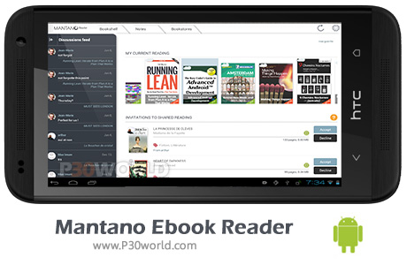 دانلود Mantano Ebook Reader Premium