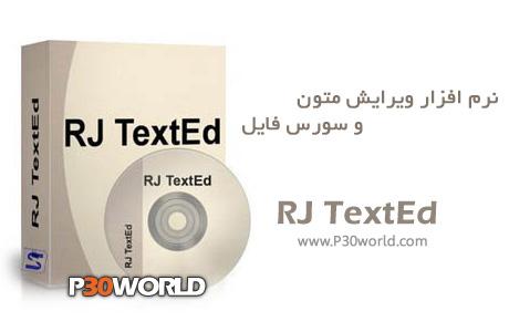 دانلود RJ TextEd 8.91 Final - نرم افزار ویرایشگر و کد نویسی