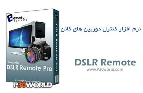 دانلود Breeze Systems DSLR Remote Pro 2.7.2 - نرم افزار کنترل دوربین های کانن