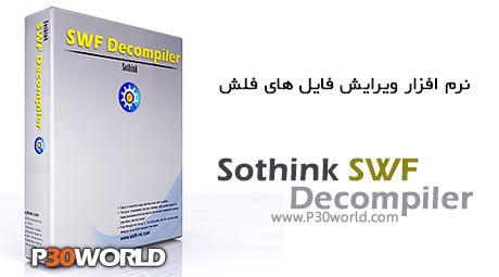 دانلود Sothink SWF Decompiler 7.4 Build 5278 – نرم افزار ویرایش فایل های فلش