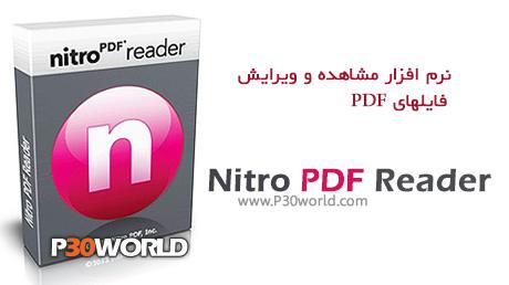 دانلود Nitro PDF Reader 3.1.1.12 - نرم افزار ساخت ، ویرایش و مشاهده PDF