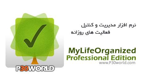 دانلود MyLifeOrganized Professional Edition 4.1.0 - نرم افزار مدیریت وظایف و برنامه ریزی شخصی