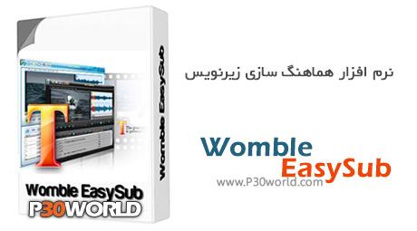 Womble EasySub 2.0.0.108 - نرم افزار ساخت و ویرایش زیرنویس فیلم های DVD