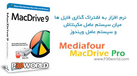 دانلود Mediafour MacDrive Pro 9.2 - نرم افزار به اشتراک گذاری فایل  میان سیستم عامل مکینتاش و ویندوز