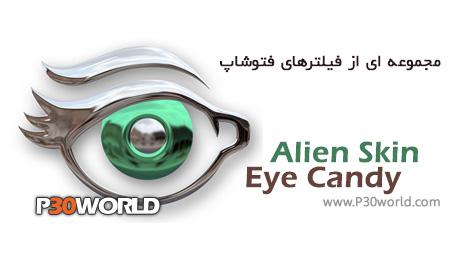 دانلود Alien Skin Eye Candy 7.1 - مجموعه ای از فیلترهای فتوشاپ