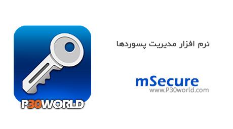 دانلود mSecure 3.5 - نرم افزار مدیریت پسورد