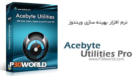 دانلود Acebyte Utilities Pro 3.1.2 - نرم افزار بهینه سازی ویندوز